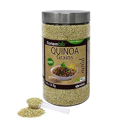 Semillas de Quinoa Natural NortemBio 1,4 kg, Calidad Premium. Excelente Fuente de