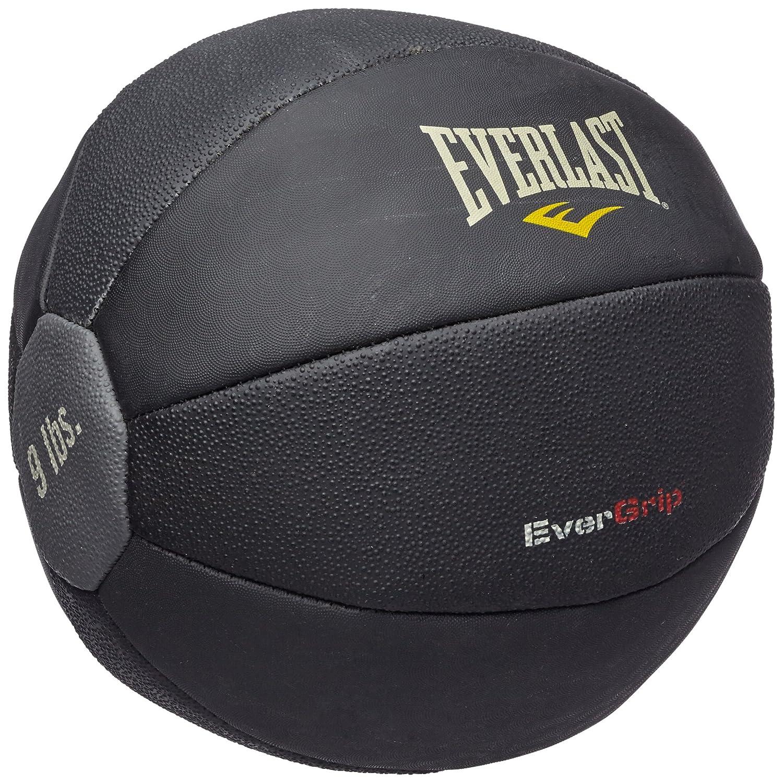 Everlast Erwachsene Boxartikel 6512 Rubber Medicine Ball 9Lbs, schwarz, 1 Größe