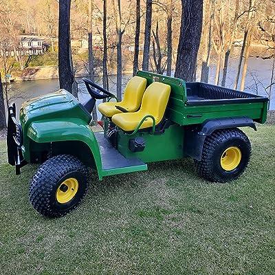 "Two (2) New John Deere Yellow Gator Seats 18"" 4x4 4x2 4x6 Turf Utility Seat YLW: Industrial & Scientific"
