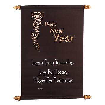 Joystick Happy New Year Gruß Scroll Karte für Ihre Lieben (JG02 ...