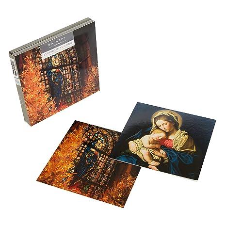 Biglietti Di Natale Religiosi.Hallmark Gallery Biglietti Natalizi Religiosi Confezione