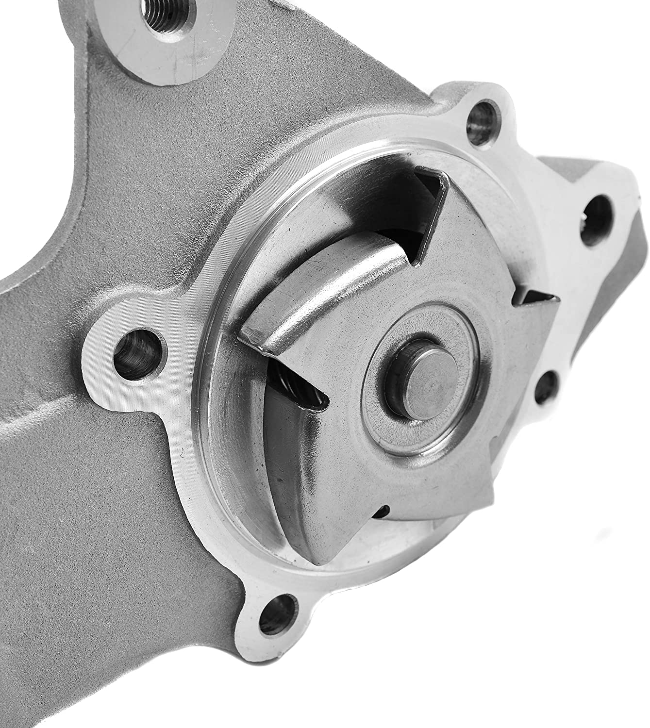 Doogo AW3412 Professional Water Pump Kit with Gasket Compatible with Dodge Dakota Jeep Wrangler Comanche Cherokee Grand Cherokee 2.5L 4.0L Engine