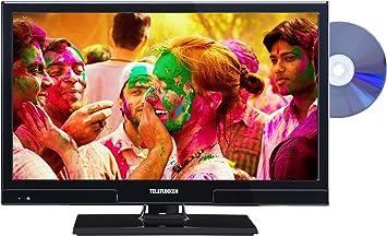 Telefunken l20h270i3d 51 cm (20 pulgadas) de televisor (HD Ready, sintonizador triple, reproductor de DVD): Amazon.es: Electrónica