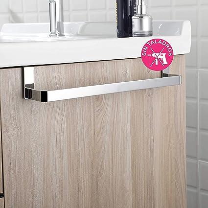 OXEN 321044 Toallero sin taladros para mueble de baño (36 cm ... c41fa2d81d9d