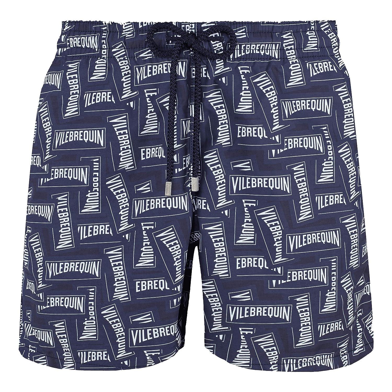 Navy 3XL VilebrequinMen Swimwear Labels