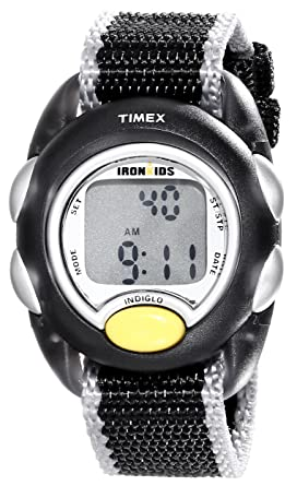 2e6cc438265 Image Unavailable. Image not available for. Color  Timex Kids  T7B9819J  IronKids Watch with Nylon Band