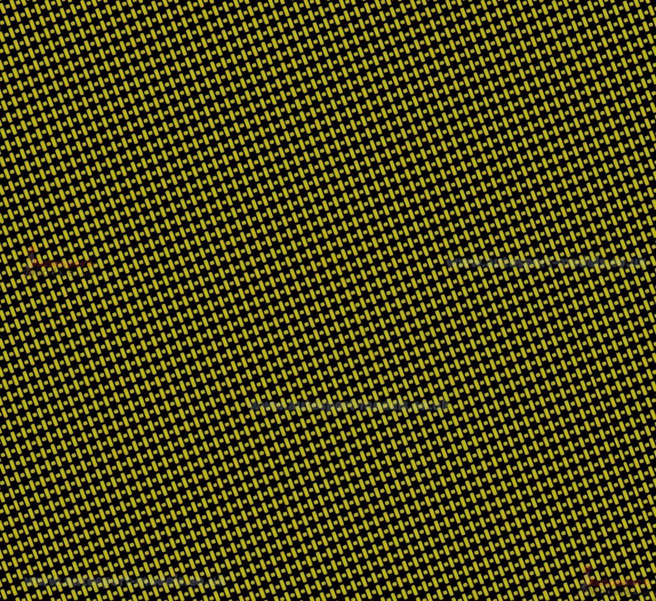 Model Factory Hiro Carbon Fibre Kevlar Type 2 Yellow water slide decal