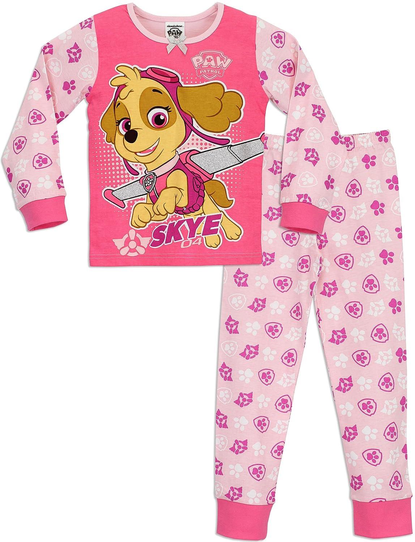 Paw Patrol Girls Pyjamas Ages 18 Months to 6 Years
