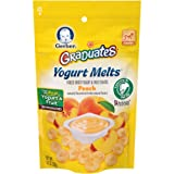 Amazon Price History for:Gerber Graduates Yogurt Melts, Mixed Peach, 1 Ounce (Pack of 7)