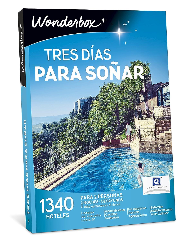 WONDERBOX Caja Regalo -Tres DÍAS para SOÑAR- 1.340 hoteles para Dos Personas: Amazon.es: Hogar