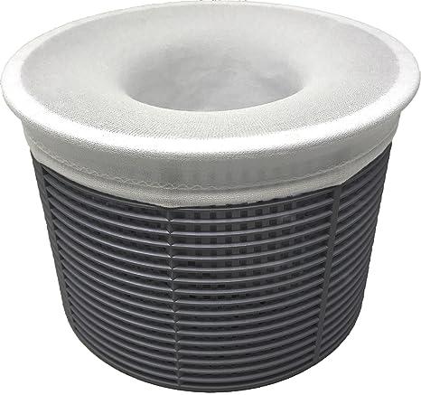 12 unidades de billar espumadera calcetines – malla fina piscina y Spa pre-filtro ahorradores