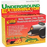 Underground Exterminator Mole and Gopher Killer - Car Exhaust Pipe Attachment to Gas and Exterminate Rodents Humanely…