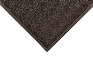 Notrax 231 Prelude Indoor/Outdoor Entrance Mat, for Home or Business, 4' x 6', Black