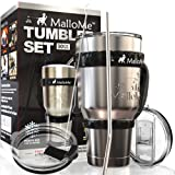 Amazon Price History for:MalloMe Stainless Steel Vacuum Insulated 5-Piece Tumbler Set, 30 oz