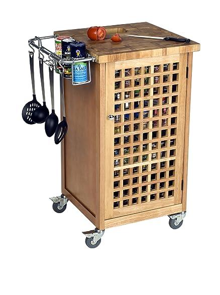 Chris U0026 Chris JET1227 Culinary Cart, Natural
