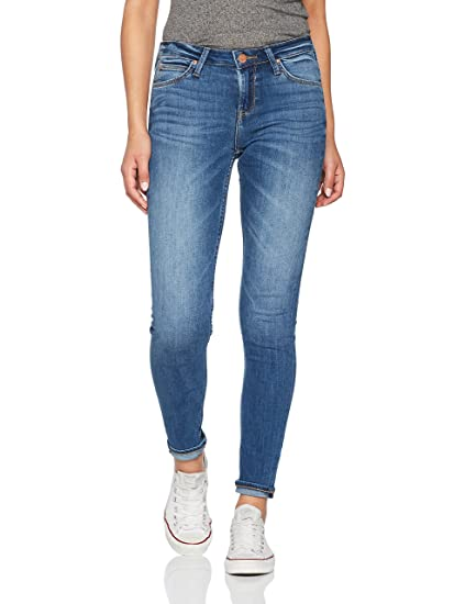 Lee Women's Scarlett Skinny Jeans, Blue (Midtown Blues Haoe), W24/L29