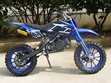49cc Mini Moto Scrambler Off Road Dirt Bike Childrens Crossover