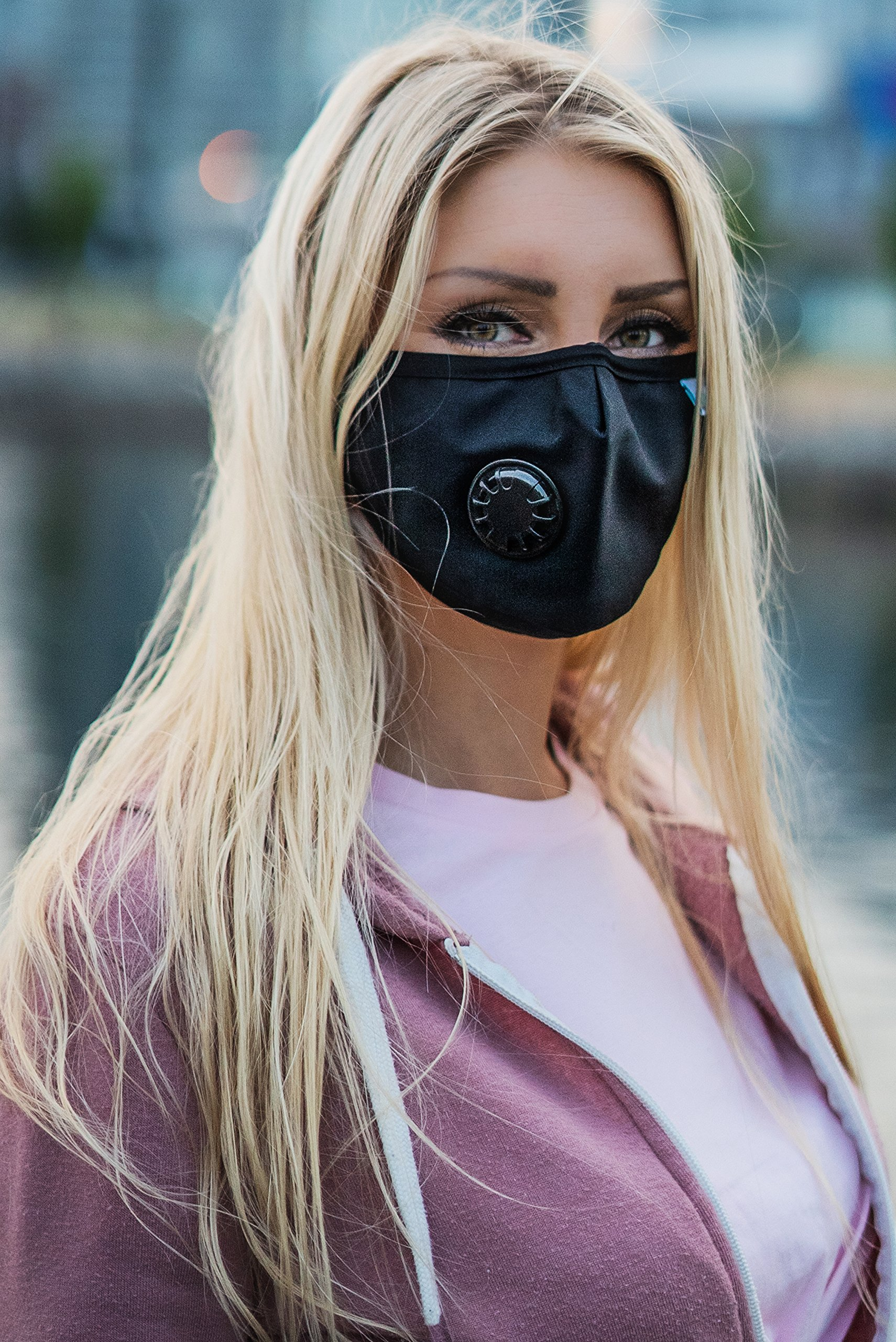 Easy Breathe Pollution Mask Ultra Soft Cotton Adjustable & Reusable With Four N99 Mask Replacement Filters | Anti Pollution N99 Filter Respirator Mouth & Face Mask For Men & Women by Keklle (Image #4)