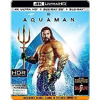 Aquaman (Steelbook) (4K UHD + Blu-ray 3D + Blu-ray) (3-Disc)