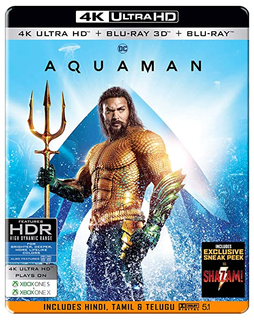 Aquaman 2018 Dual Audio[Hindi.5.1.+.English] 720p & 480p x264 AAC ESub 1.4gb & 450Mb [Gdrive]