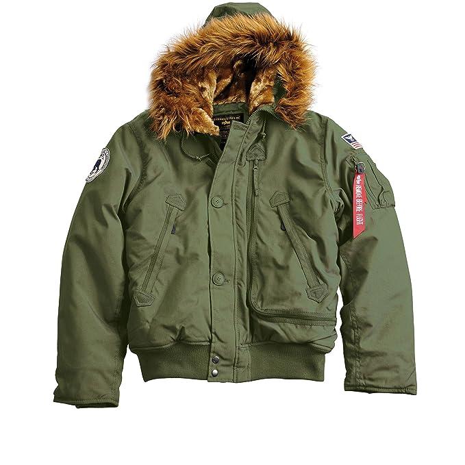 huge discount 0ff0e 087c5 Alpha Industries Herren Polar Jacket Sv Jacke