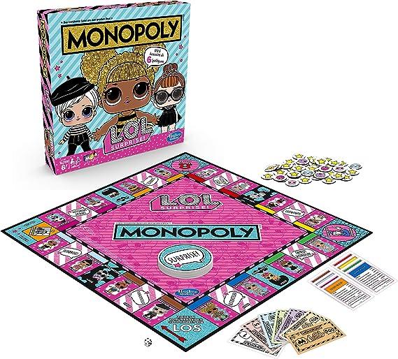 Hasbro E7572100 - Juego de Tablero (Simulación económica, Niños y Adultos, Niño/niña, 8 año(s)): Amazon.es: Juguetes y juegos