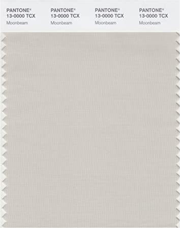 PANTONE SMART 13-0000X Color Swatch Card Moonbeam by Pantone
