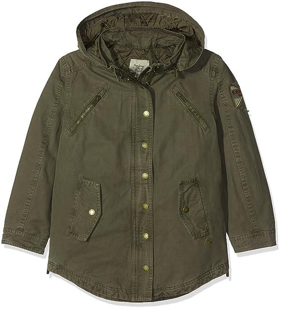Pepe Jeans Judy Teen PG400582, Abrigo para Niñas, Verde (Army 716) Small