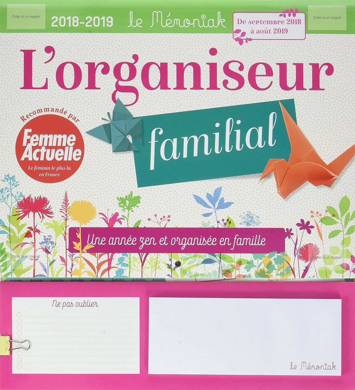 Organizador memoniak una Annee Zen y organisee en familia con mujer Actuelle 2018–2019 Collectif 365 PARIS SELF-HELP / General