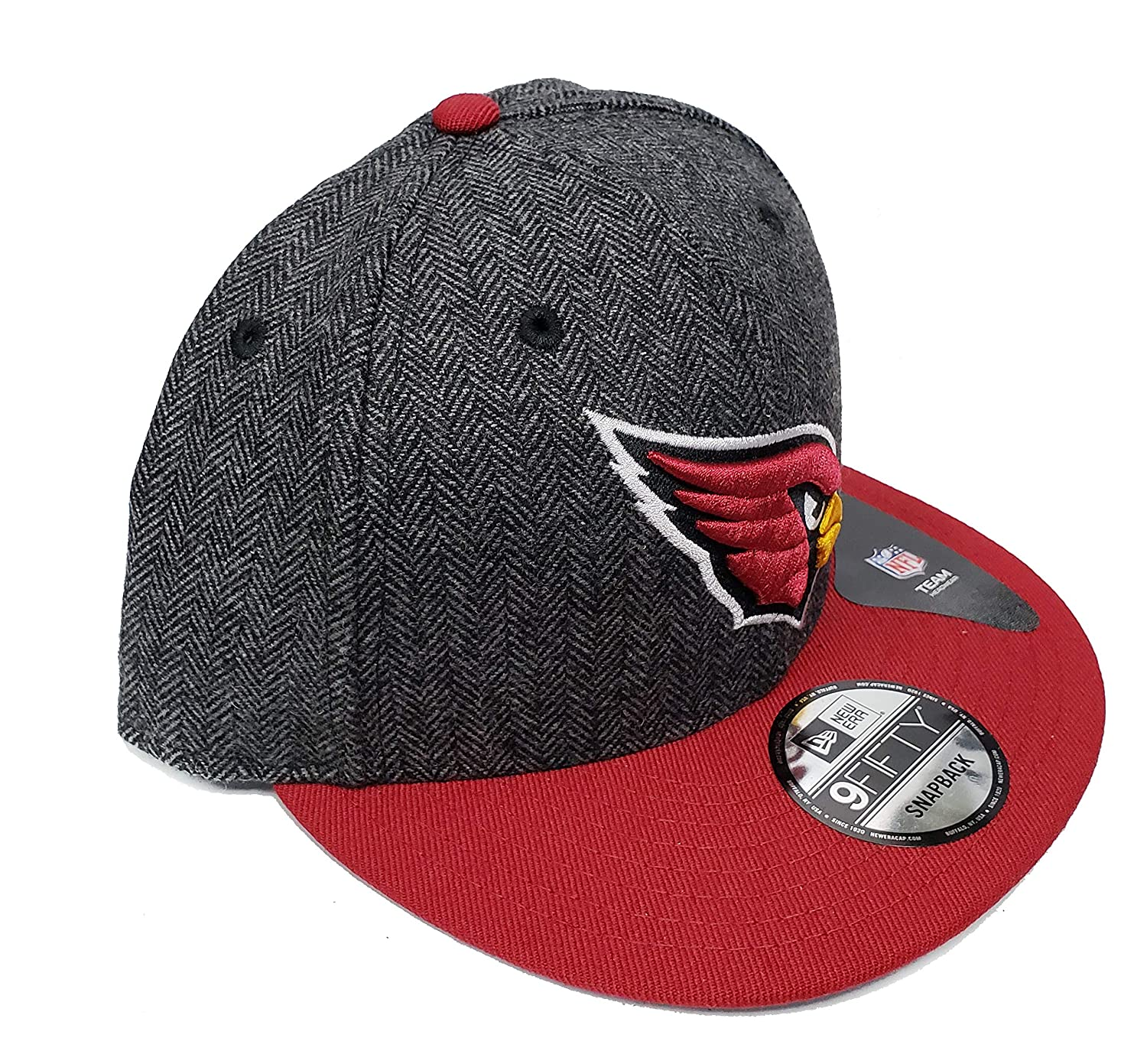 sports shoes b5664 b0c33 Amazon.com   New Era 9Fifty Pattern Pop Snapback Hat Cap (Arizona Cardinals)    Clothing