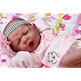 My Lovely Baby Realistic Berenguer 15 inches Anatomically Correct Real Girl Baby Washable Doll Soft Vinyl accessories