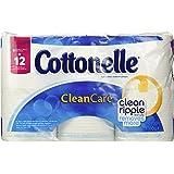 Cottonelle Clean Care Toilet Paper, Double Roll (6 Rolls)