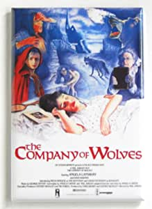 The Legend of the Wolf Woman FRIDGE MAGNET movie poster werewolf