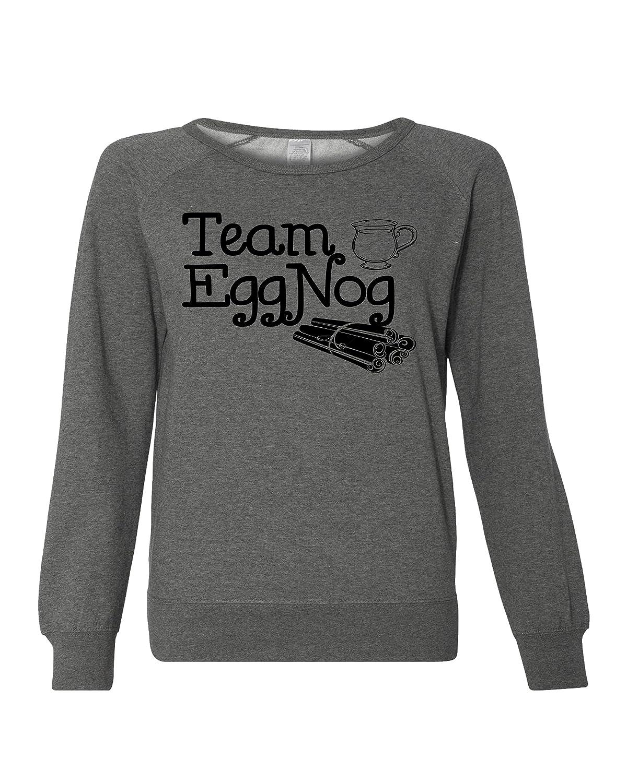 Team Eggnog Thanksgiving Women's Sweater