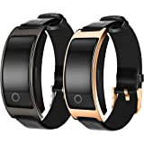 WFDRD Fitness Tracker Smart Bracelet Sport tracker Activity Wristband Intelligent Watch health Tracker Heart Rate Blood Pressure Oxygen Monitor For IOS And Android Phone Business Type CK11S