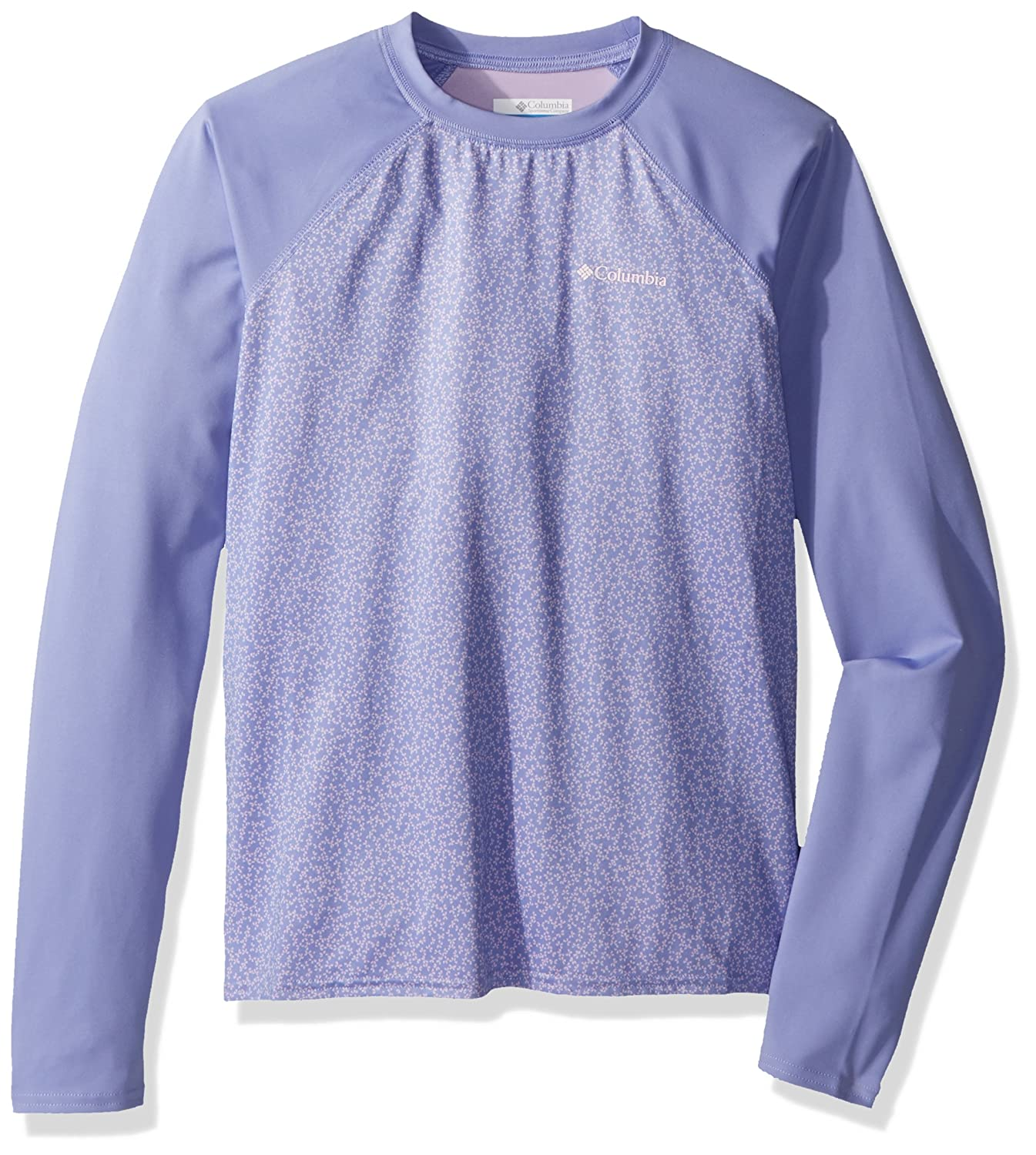 Youth Columbia Mini Breaker Printed LS Sunguard