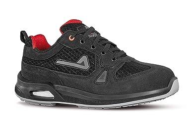 Aimont Vigorex Argon, Zapatillas de Seguridad para Hombre Negro, 39 EU