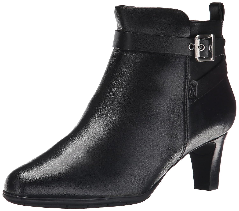 Rockport Women's Total Motion Melora Strap Boot B00T3IOQJ6 9.5 B(M) US|Black Burnished Calf