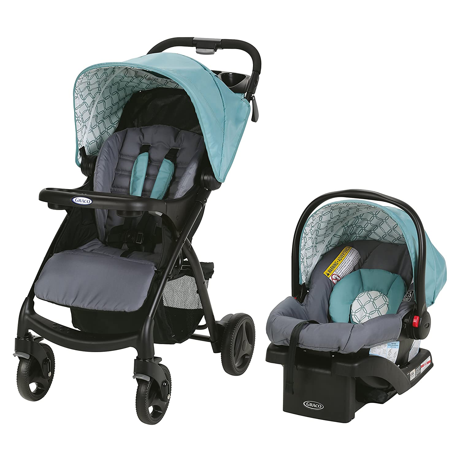 Graco Verb Click Connect Travel System, Merrick Graco Baby 2047762