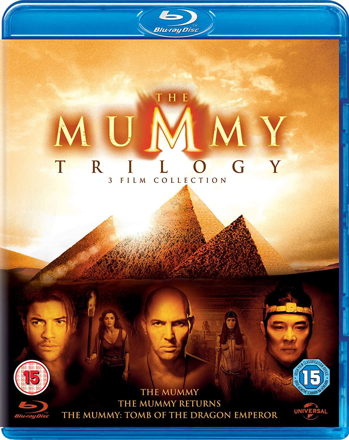 ★★★★★ The Mummy Trilogy 1999-2008 1080p BluRay x264 AAC 5 1-POOP ★★★★★