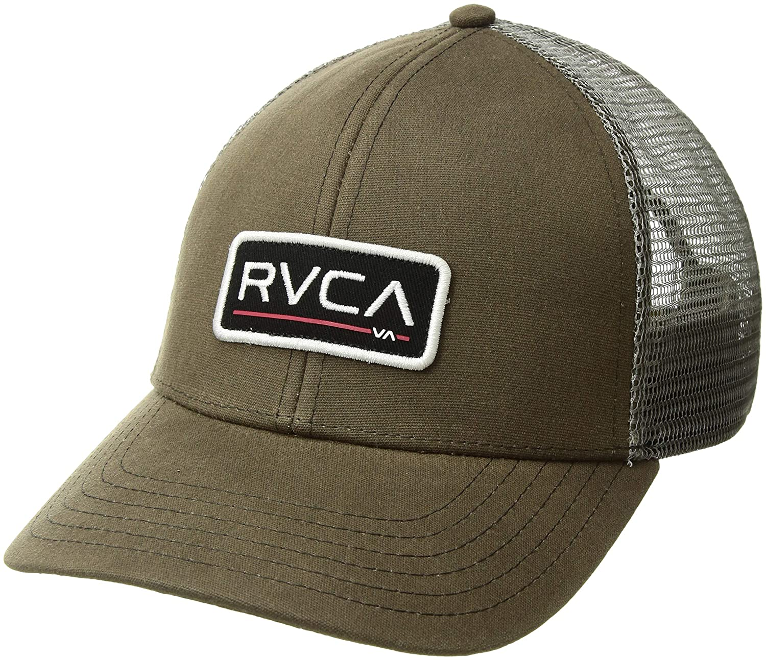 RVCA Men's Ticket Trucker Hat, Black One Size MAHWQRTT