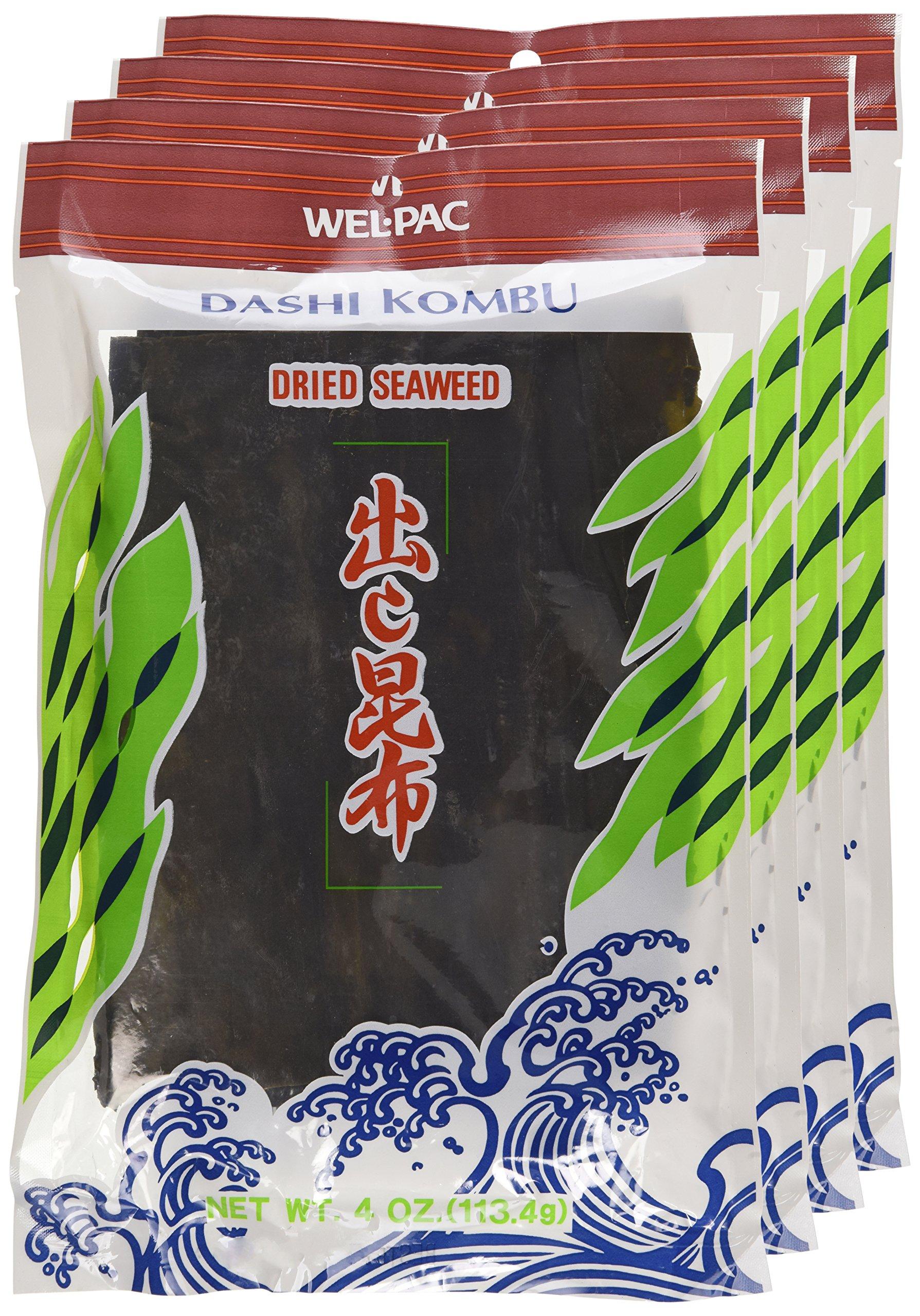 Wel-pac Dashi Kombu Dried Seaweed (Pack of 4)  by Wel-Pac (Image #2)