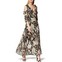 Marca Amazon - TRUTH & FABLE Vestido Largo de Flores Mujer