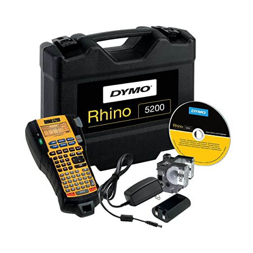 11 opinioni per DYMO RHINO 5200 Hard Case Kit label printer- label printers (Black, 100