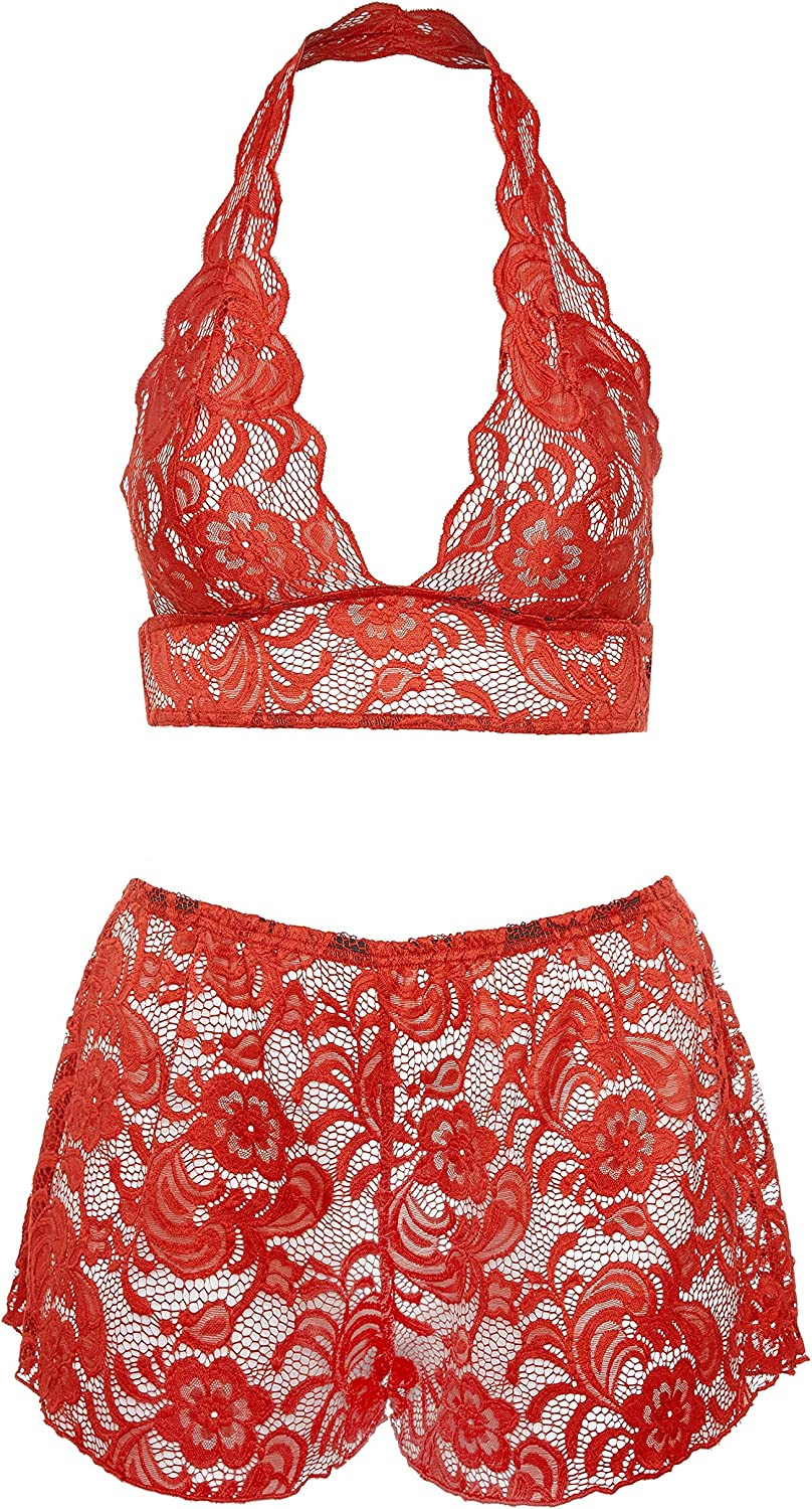 Yours Clothing Womens Plus Size Limited Collection Bralette Knickers Set