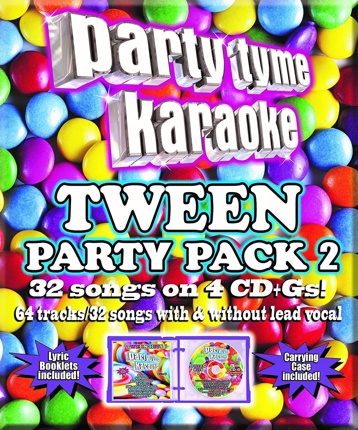 Tween Party Pack 2 Sybersound Karaoke Universal Music Pop V/a Compilations