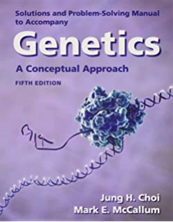 Solutions and problem solving manual to accompany genetics a solutions manual for genetics a conceptual approach fandeluxe Images