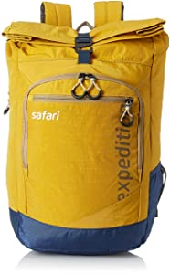 Safari 37.8 Ltrs Yellow Casual Backpack (Expedition 20 HY YEL)