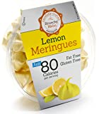 Original Meringue Cookies (Lemon) • 80 calories per serving, Gluten Free, Fat Free, Nut Free, Low Calorie Snack, Kosher, Parve • by Krunchy Melts