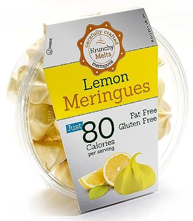 Original Meringue Cookies (Lemon) • 80 calories per serving, Gluten Free, Fat
